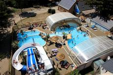 Camping le Moulin de l'Eclis Vue d'ensemble